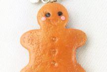 Weihnachten in miniatur / Polymerclay, fimo, WePAM