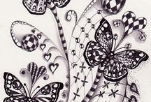 CRAFTS Doodle/Zentangles/Fonts / by Judy G