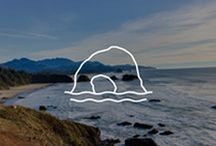 "Oregon Coast / To Oregonians (both natives and transplants), all 363 miles of rocky cliffs, white sandy shores, and unbelievably panoramic views lining the Pacific Ocean is simply known as ""the coast""."