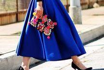 Dresses and skirts  / Quero todas as saias em vestidos!!!!