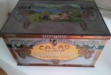 scatole  e contenitori vintage