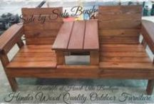 Up-cycled Furniture / If your looking for unique, beautifully hand-crafted Up-Cycled Furniture then HeartVille Boutique is your one stop shop!   We have several vendor who make wonderful pieces!  Stop in today!