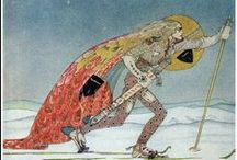 """""""East of the Sun and West of the Moon"""" by Kay Nielsen / 1914"""