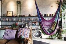 interior desing boho. / . / by Berenice P