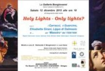 Holy Lights _ only lights?_2015 / mostra d'arte_Bologna_Italy