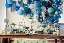 Baptism Party Ideas / Baptism, Christening and First Communion Party Ideas.