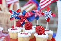 Memorial Day Party Ideas / Patriotic party ideas for Memorial Day. Inspirations for Memorial day food, Memorial day drinks, Memorial day BBQ and Memorial day party decor with DIY.