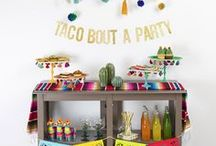 Cinco de Mayo Party Ideas / Best Cinco de Mayo party ideas to host a great Fiesta! Lots of inspirational party ideas for Cinco de Mayo food, drinks, desserts, recipes and decor.