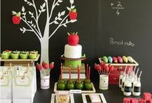 Back to School Party Ideas / A great collection of Back to School Party Ideas, crafts, DIY tutorials, gift ideas and free printables