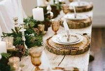 Thanksgiving Party Ideas / Inspirational Thanksgiving party ideas, craft, decor, tablescape, DIY tutorials and recipes.
