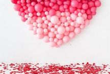 Valentine Day Party Ideas / Valentine day ideas for food and drinks. Inspirations for Valentine Day decor, crafts and DIY.