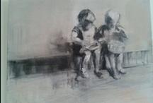 paintings /   / by Annemarie van den Boom