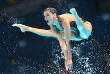 synchronized swimming / by ahmed elmahdy