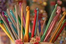 Инструменты для вязания ❁ Crocheting & knitting tools / Инструменты и приспособления для вязания крючком и спицами. Интересные решения для работы с пряжей. Crocheting & knitting tools. Working with yarn.