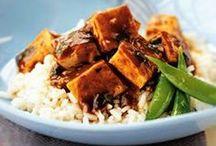 Recetas con Tofu / Las mejores preparaciones con tofu o queso vegetal de soya, uno de los componentes más usados en la cocina vegana y vegetariana.