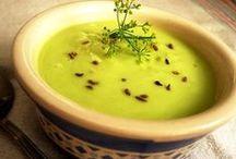 Sopas y Cremas Veganas / Recetas de Cocina con Sopas y Cremas para Veganos & Vegetarianos.