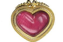 Heart-shaped jewelry / rings, pendants, lockets–Perfect for Valentine's Day, or just the one you love (can be a gift to YOU) at Athena's Treasures: http://www.athenas-treasures.com/
