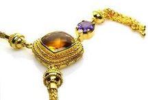Necklaces - Handmade Greek Jewelry / Handmade Greek Jewelry - 24k and 18k gold neckaces
