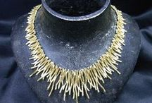 Absolutely Eye-Catching / Hand crafted jewelry, vintage, antique, maybe even modern - eye-stopping
