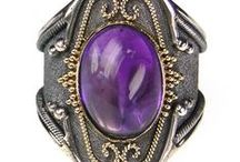 Amethyst-Handmade Greek Jewelry / Stone of calm mind, spirit and love. Exclusive access to the finest Greek jewellery designers, with a focus on Amethyst jewelry.