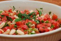 Recetas de Ensaladas / Recopilación de recetas de ensaladas coloridas, verdes y súper saludables. Las mejores preparaciones totalmente sanas para tu salud.
