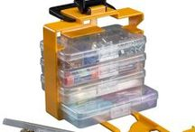 Hardware - Storage & Solutions / Stack-On's storage and organization solutions will help you keep your parts and supplies right where you need them – secure and easy to access. These boxes and cabinets are perfect for smaller parts for work onsite or in your home, for fishing tackle, for crafters/hobbyists, and more.