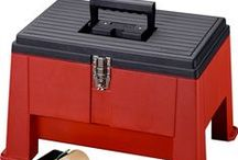 Hardware - Tool Boxes & Chest / Stack-On Steel and Plastic Tool Boxes and Tool Chest provide quality construction for the professional and the DIY Handyman with strong and durable storage! They are ideal for storing tools, organizing fishing tackle, crafting/hobbies - even the kids' LEGOs!