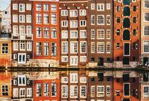 Netherlands | Holanda / Netherland, holanda, amsterdã, flores, bicicleta, arquitetura, viagens, europa, europe