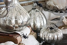 """Halloween & Fall Ideas / Decoratives and crafts... All """"Halloween & Fall Edibles"""" Food and Cocktails are in a separate folder. / by Deb O. Martin"""