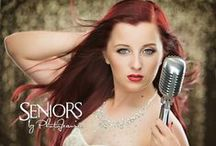 Vocalists / Singing senior picture ideas for girls and guys. Singing senior pictures.