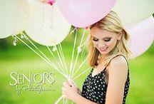 Balloonacy / Balloon senior picture ideas.