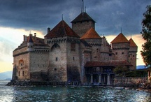 Enchanting Castles and Chateaux / Enchanting homes of times gone by.