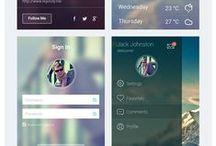 App design, UI & UX inspiration