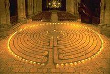 Labyrinths and Spirals