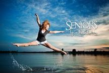 Beach Dancers / Dance senior pictures and dance senior picture ideas at the beach. Dance senior pictures at sunset at the beach. Dance senior picture ideas for girls. Pictures dancing at the beach. Dance jumps and stretches at the beach.