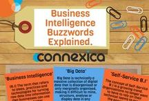 Connexica Infographics / A range of infographics produced by Connexica showing various facts and statistics relating to Analytics and more!