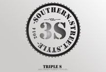 Southern Street Style ( Triple S ) / graphic design, print design, logos, posters, flyers, branding, clothes design,fashion, men's, women's