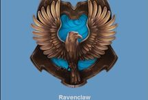 Ravenclaw!! / Or yet in wise old Ravenclaw  If you've a ready mind, Where those of wit and learning will always  find there kind