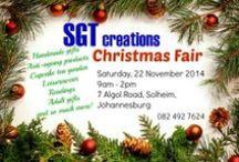 SGT creations Christmas Fair 2014