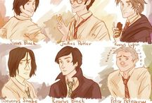 My marauders / This was goin to b a board only about marauders but they are funny so I decided to just pin funny things