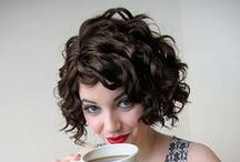 Curly Hair / Styles and Cuts for Curly Hair