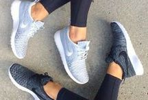 Workouts. / Workout clothes and workouts to try