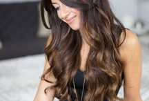 Sexy hair style / Ombre, hair color sexy, longhair style ..