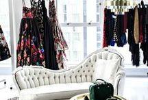 Dream Closet. / Wardrobe haven.
