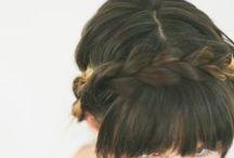 braids for short hair / by Sam Villa's Hair Show