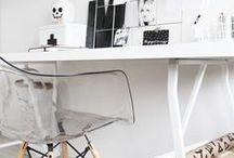 interior HOME OFFICE pracovňa