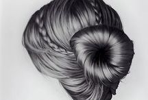 HairShow Illustration Inspiration / Visual hair delights to inspire creativity and to showcase some of the amazingly brilliant things that you can make and do if you just let go of inhibitions and let your mind wander freely! / by Sam Villa's Hair Show