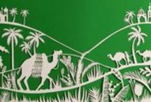 Shobhna Patel / Wonderfully intricate papercut artwork by Shobhna Patel, represented by Artist Partners