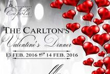 Valentine's Day in Venice / Valentine's romantic dinner at the Hotel Carlton on the Grand Canal