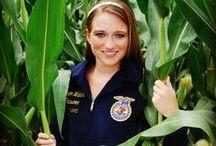 Future Farmers / Senior Picture Ideas for Future Farmers of America. FFA Senior Pictures.